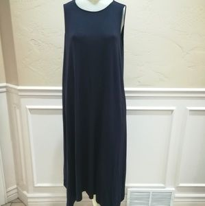 Eileen Fisher navy tank dress